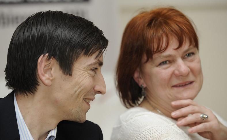 Maciej Marosz i Dorota Kania