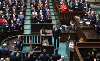 Mazurek: Jesteśmy zaskoczeni i zawiedzeni decyzją prezydenta o zawetowaniu ustawy degradacyjnej