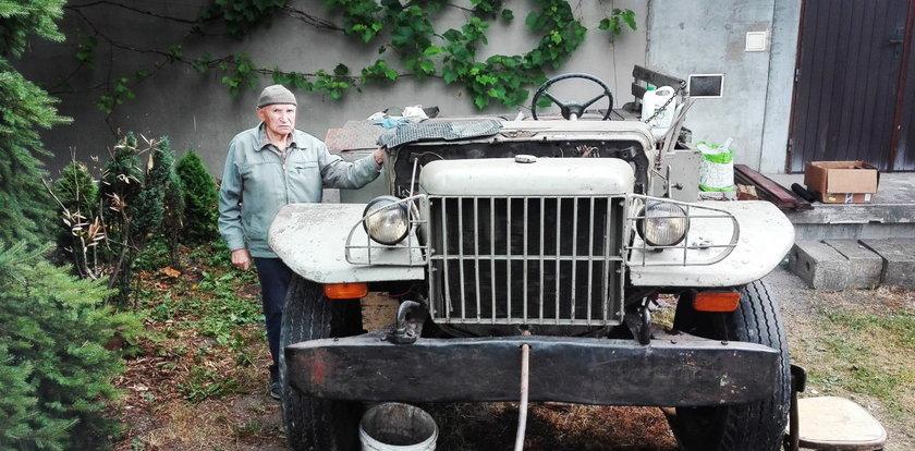 Spełnijmy marzenie 93-letniego kombatanta! Pan Józef chce odrestaurować dodge'a z 1942 roku