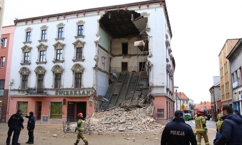 Katastrofa budowlana w Rybniku