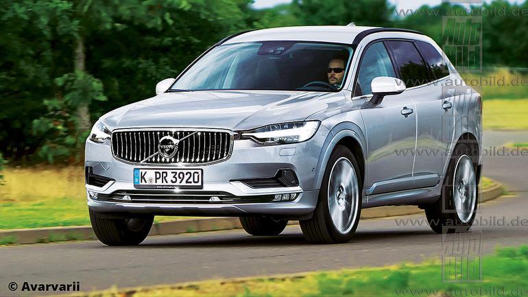 Nowe Volvo XC60 - wizualizacja