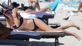 Seksowna Aida Yespica w bikini. Ciało idealne!