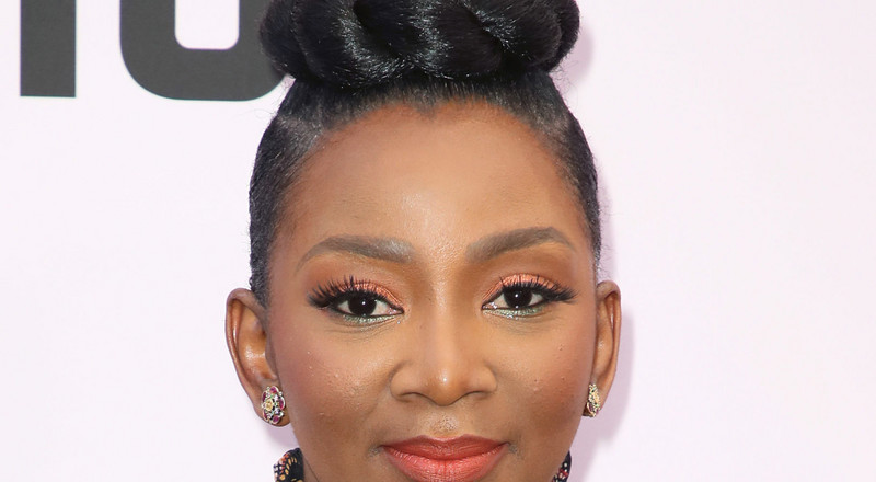 Genevieve Nnaji slays on the red carpet at the Essence Black Women in Hollywood Awards