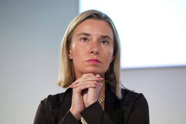 Federica Mogherini. Fot. EPA/GUIDO MONTANI