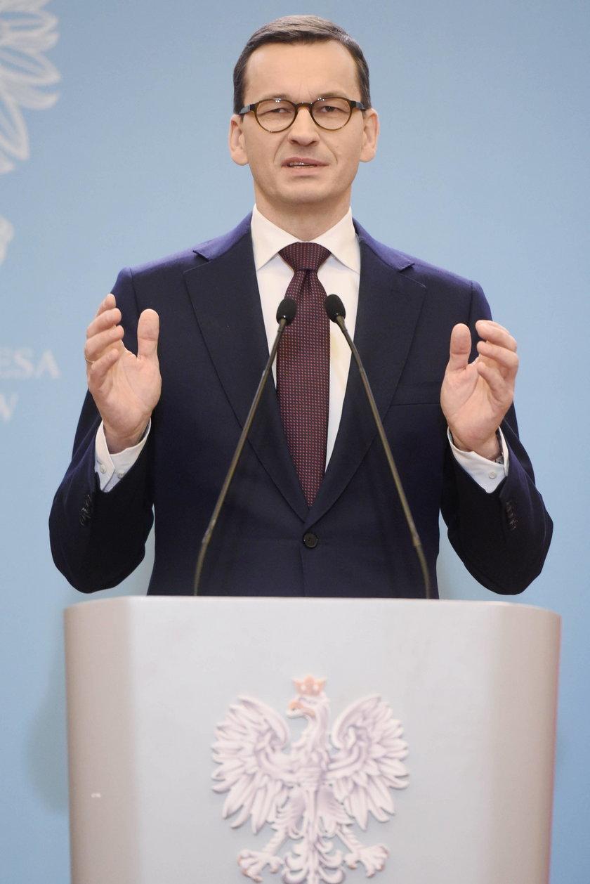 Zaskakujące wyznanie premiera