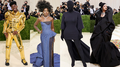 From Rihanna to Lil Nas X- How Celebrities dressed for the 2021 Met Gala (Photos)