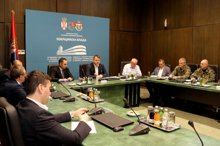sednica Štaba za vanredne situacije AP Vojvodine