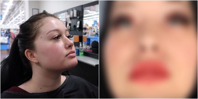 Pre i posle šminkanja