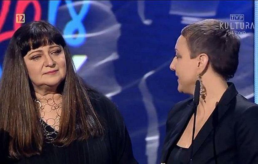 Barbara Trzetrzelewska i Katarzyna Wodecka