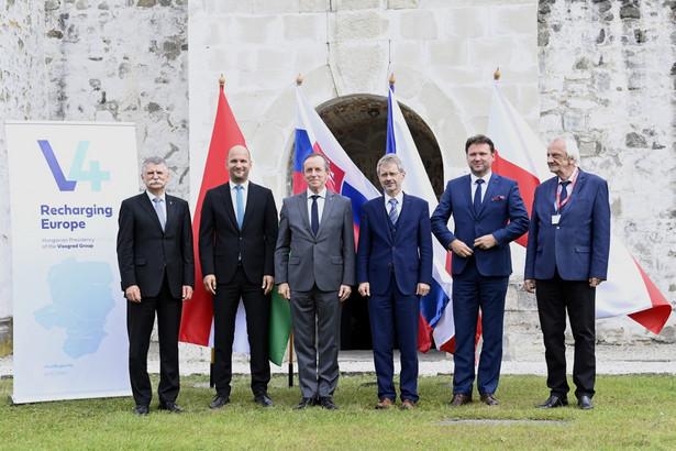 Przedstawiciele parlamentów państw V4