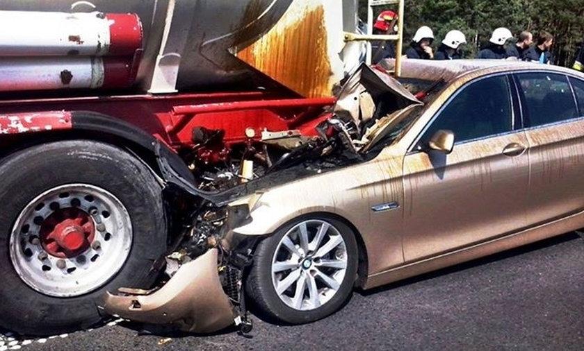 Wypadki samochodowe