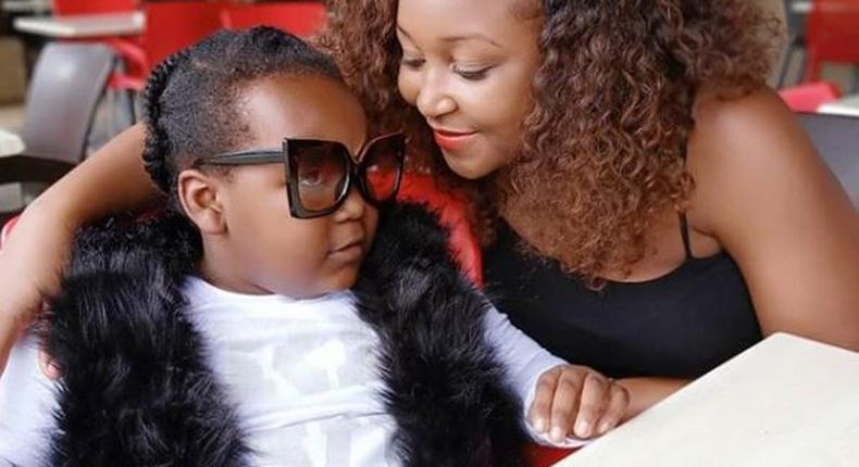 My beautiful daughter stopped walking, talking and eating – Betty Kyalo opens on daughter's dangerous illness
