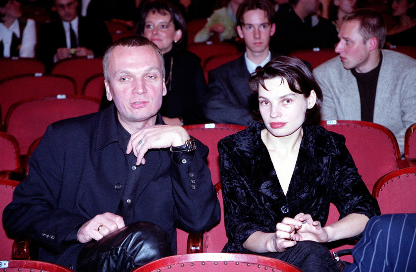 Grzegorz Ciechowski z Anną Skrobiszewską