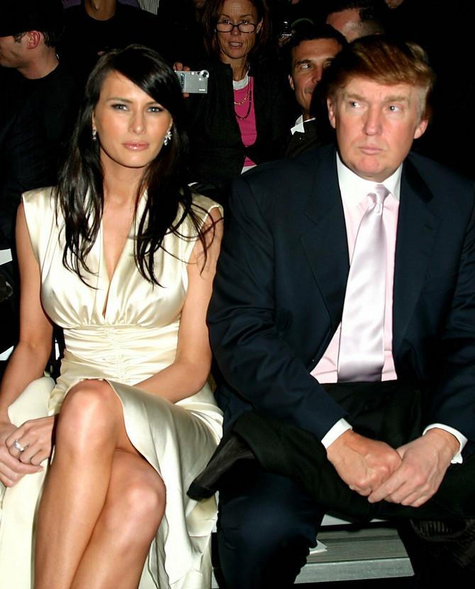Donald i Melanija Tramp na početku trećeg milenijuma