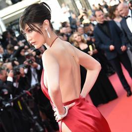 Bella Hadid zaszalała w Cannes. Spójrzcie na jej kreację