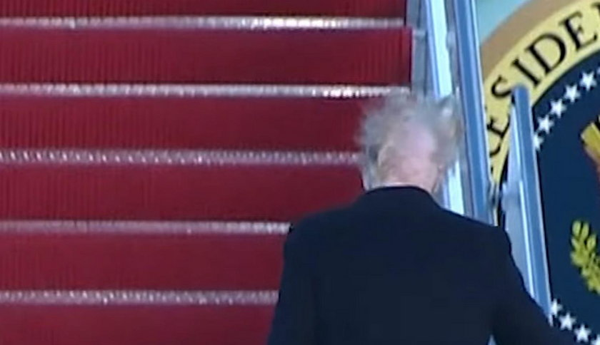 Zaczeska Donalda Trumpa