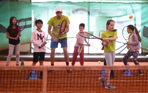 Mališani obožavaju da dolaze na treninge