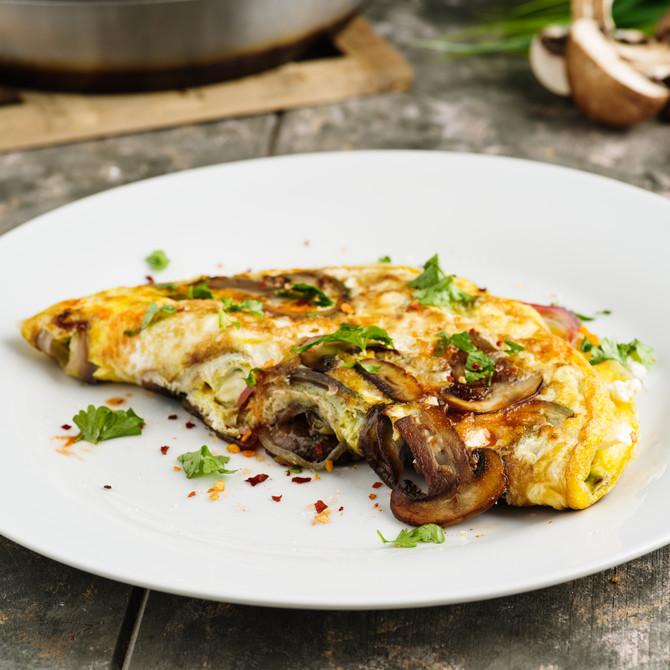 Omlet sa pečurkama daje dovoljno energije za dobar početak dana