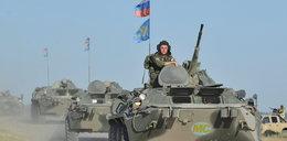 150 rosyjskich pojazdów już w Ługańsku