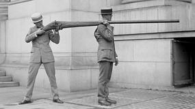 Punt Gun - strzelba ekstremalna, która została zakazana przez swoją skuteczność