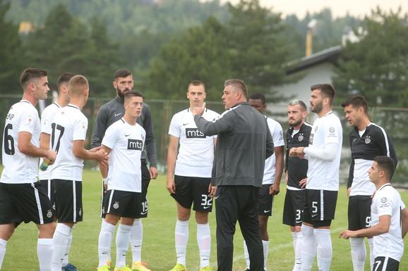 Savo Milošević fudbaleri Partizana