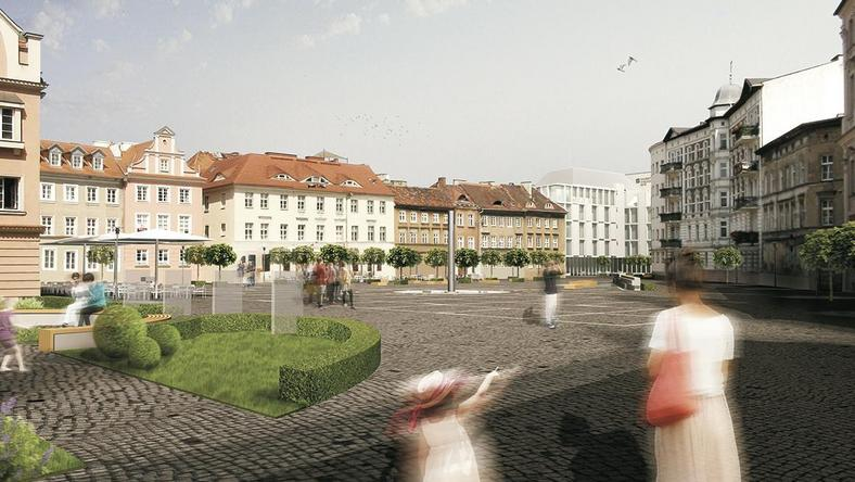 Plac Kolegiacki po przebudowie