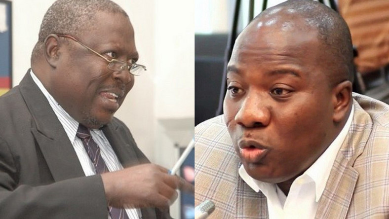 Special Prosecutor, Martin Amidu and MP for Bawku Central, Mahama Ayariga