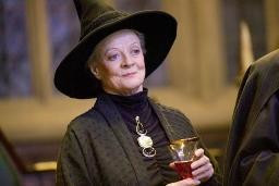 "Maggie Smith w filmie ""Harry Potter i Czara Ognia"""