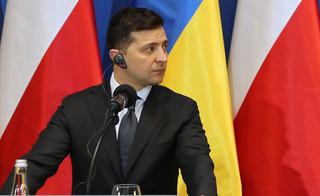 Mniej niż połowa Ukraińców ufa prezydentowi Zełenskiemu [SONDAŻ]