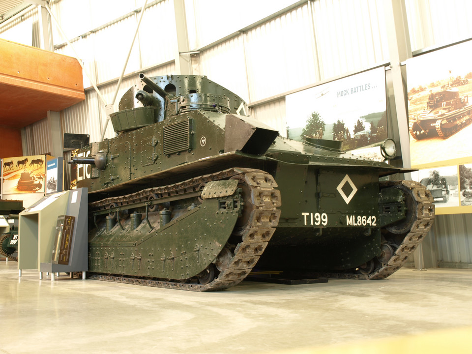 Vickers Medium Tank Mark II
