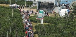 Tłumy turystów w Karpaczu. Takiego sezonu dawno tam nie było