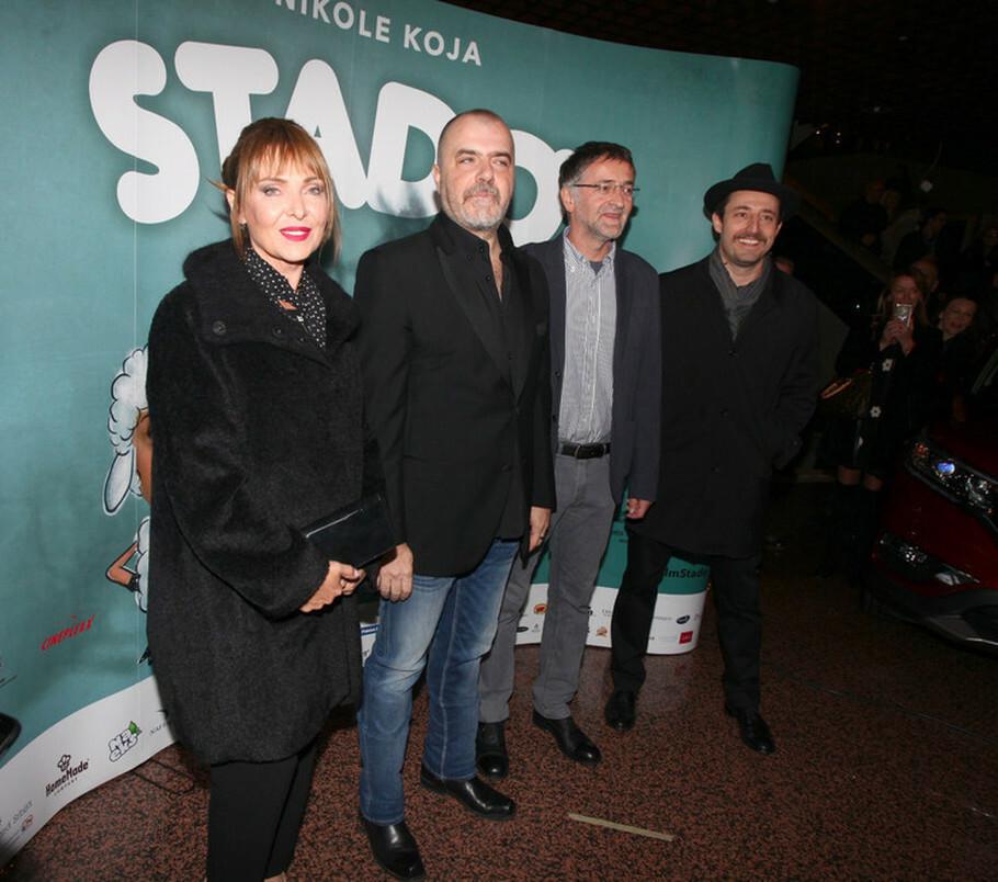 Vesna Trivalić, Nikola Kojo, Zoran Cvijanović i Nikola Đuričko