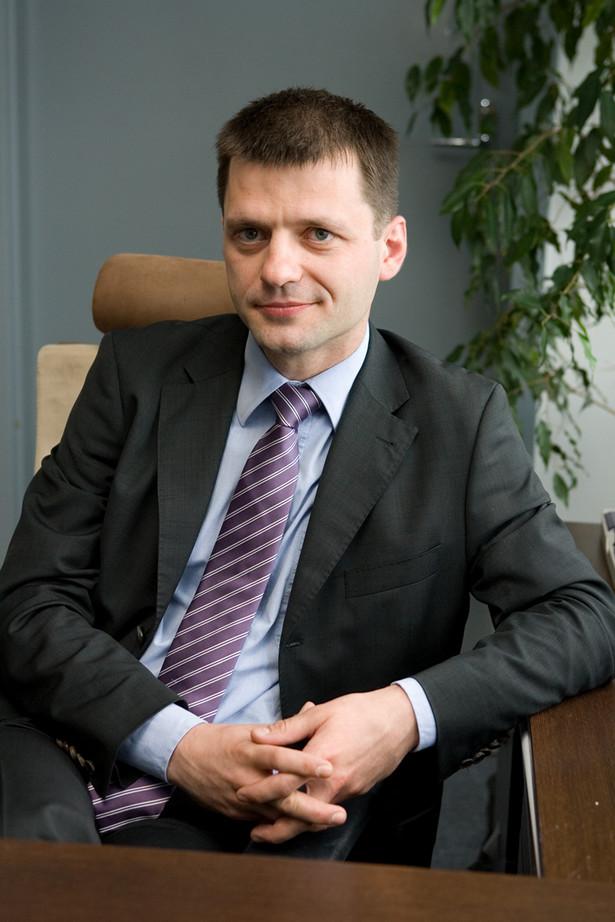Bartłomiej Piech, radca prawny w Biurze Krajowej Rady Polskiego Związku Działkowców