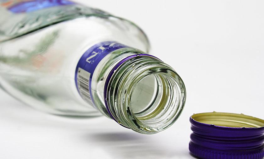 Butelka wódki