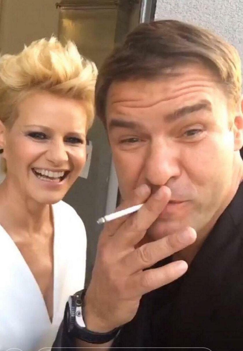 Tomasz Karolak i Małgorzata Kożuchowska