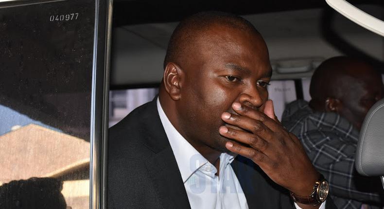 Rashid Echesa arrested