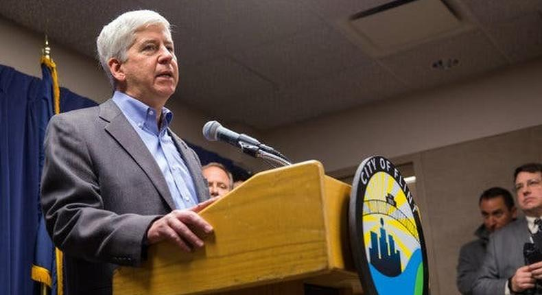 Former Michigan Governor withdraws from Harvard post over Flint uproar