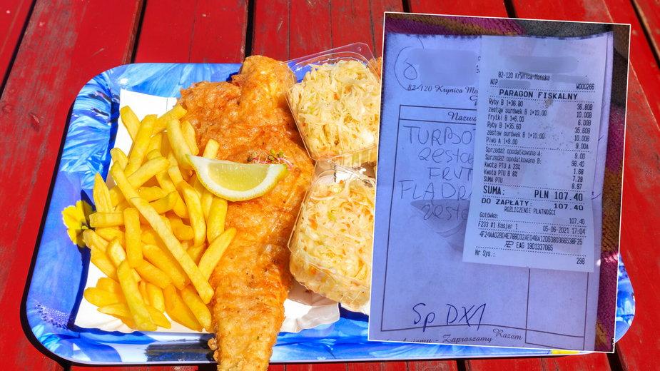 Ile kosztuje jedzenie nad morzem