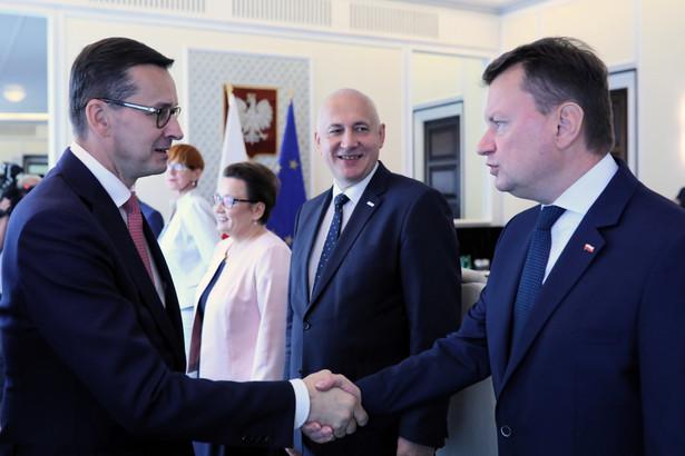 Mateusz Morawiecki, Mariusz Błaszczak, Joachim Brudziński