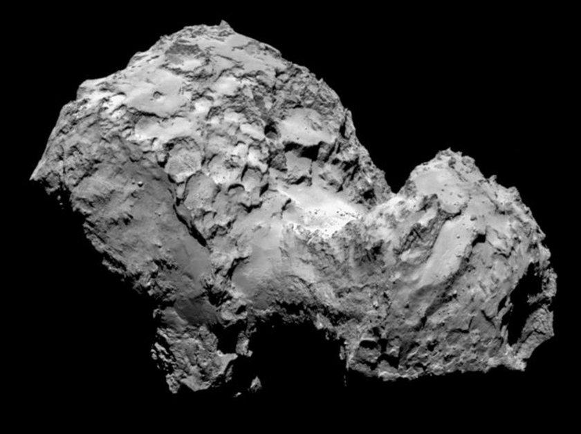 Nawiedzona kometa?