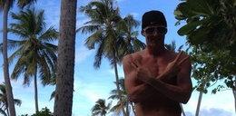 Lewandowski na rajskich wakacjach! Foty z urlopu