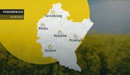 Prognoza pogody dla woj. podkarpackiego - 24.09