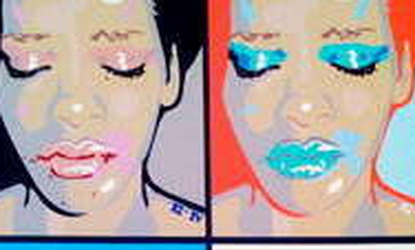 Pobita Rihanna na obrazach!
