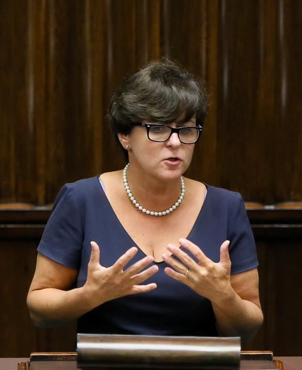 Joanna Kluzik-Rostkowska. Fot. PAP/Paweł Supernak