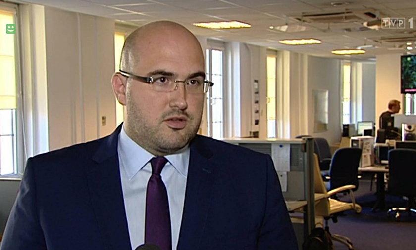 Jarosław Olechowski twierdzi, że został okradziony