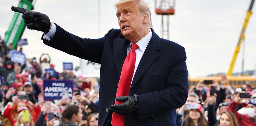 Trump triumfuje. To popisowa akcja