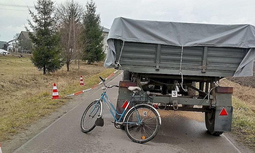Gdy spojrzał w lusterko, zobaczył leżący rower. Horror w Tarnoszynie