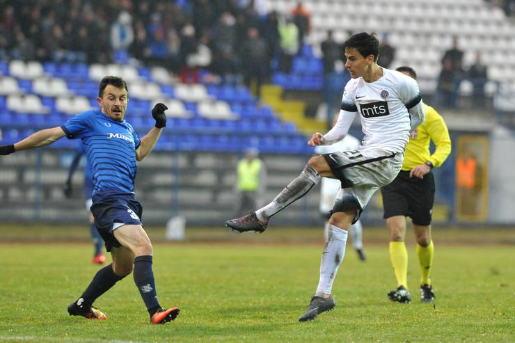 FK Mladost Lučani, FK Partizan