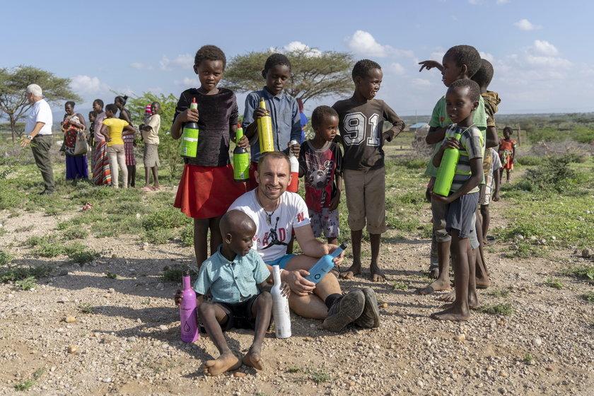 Krzysztof Drabik bił rekord, by pomóc dzieciakom w Kenii!