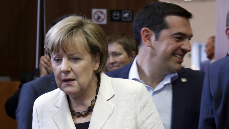 Angela Merkel i Aleksis Tsipras